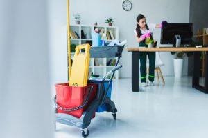 Reinigung Büro und Praxis Gebäuderenigung Kruppa