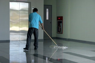 Unterhaltsreinigung, Unterhaltsreinigung in Büros